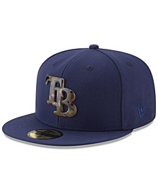 Tampa Bay Rays Camo Capped 59FIFTY-FITTED Cap