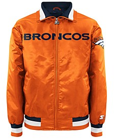 Men's Denver Broncos Starter Captain II Satin Jacket