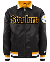 9b4ced589 G-III Sports Men s Pittsburgh Steelers Starter Captain II Satin Jacket