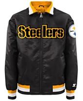 7b140e404 G-III Sports Men s Pittsburgh Steelers Starter Captain II Satin Jacket