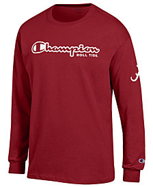 Champion Men's Alabama Crimson Tide Co-Branded Long Sleeve T-Shirt