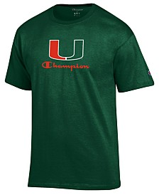 Champion Men's Miami Hurricanes Co-Branded T-Shirt
