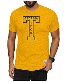 Men's Georgia-Tech Mock Twist Vault Logo T-Shirt