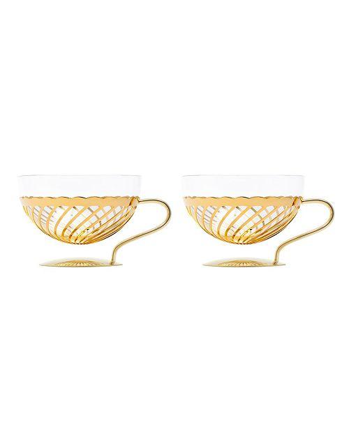 BISHOP HOUSE LLC Thalia Glassware Set