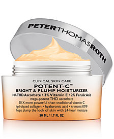 Peter Thomas Roth Potent-C Bright & Plump Moisturizer, 1.7-oz.