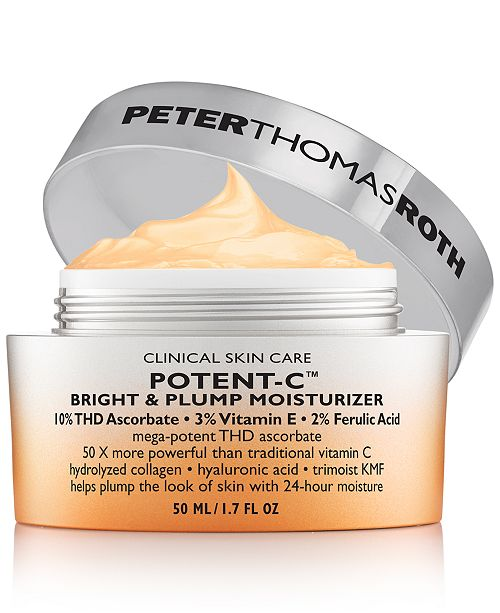 Peter Thomas Roth Potent-C Bright & Plump Moisturizer, 1.7-oz.