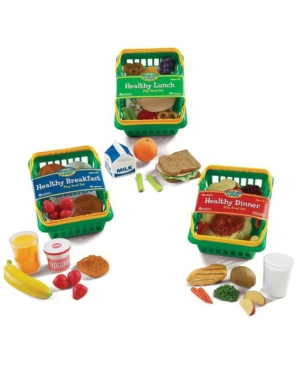 Learning Resources Pretend and Play Healthy Foods Play Set Bundle