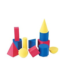 Learning Resources Soft Foam Geosolids Set of 12