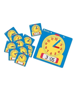 Learning Resources Write and Wipe Clocks Classroom Set
