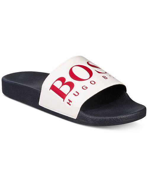 dc0e839f8 Hugo Boss HUGO Men s Solar Sliders Sandals   Reviews - All Men s ...