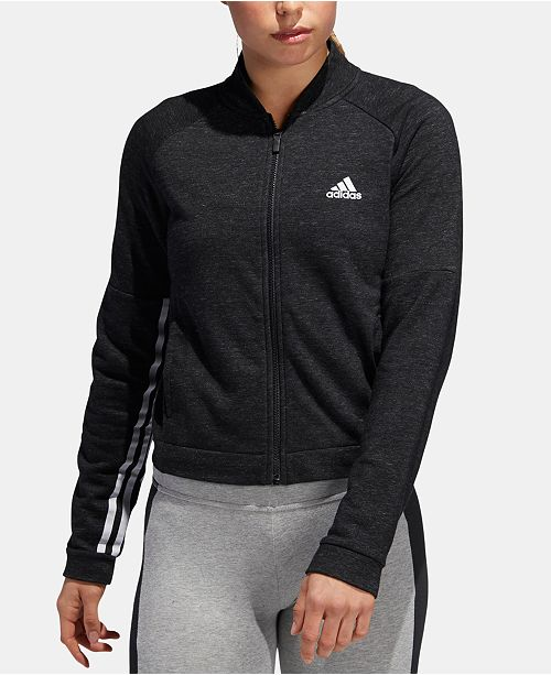 d88ff6b28 adidas Sport 2 Street French Terry Track Jacket & Reviews - Jackets ...