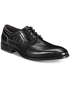 INC Men's Hyde Textured Lace-Ups, Created for Macy's
