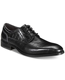 I.N.C. Men's Hyde Textured Lace-Ups, Created for Macy's