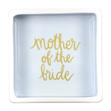 Coton Colors Stripe Mother of the Bride Square Trinket Bowl