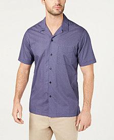 Tasso Elba Men's Estreno Geo-Print Shirt, Created for Macy's