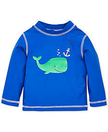 Little Me Whale Baby Boys Rashguard