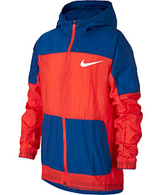 Nike Big Boys Hooded Woven Training Jacket