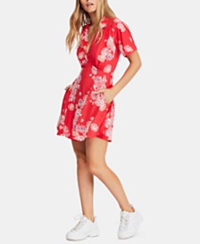 Free People Hawaii Mini Dress