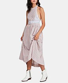 Free People Halter-Neck Maxi Dress