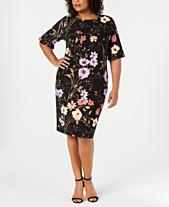 8bac13c0 Calvin Klein Plus Size Dresses: Shop Calvin Klein Plus Size Dresses ...