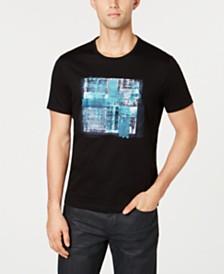 Alfani Men's Dry Brush Graphic T-Shirt, Created for Macy's