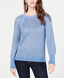 I.N.C. Metallic Sweater, Created for Macy's