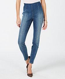 INC Pull-On Skinny Jeans, Created for Macy's