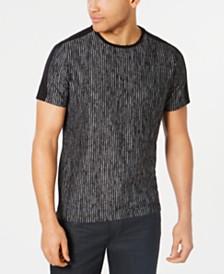 Alfani Men's Distressed Stripe T-Shirt, Created for Macy's
