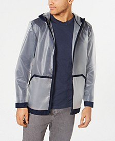 Men's Transparent Bomber Jacket, Created for Macy's