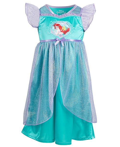 AME Toddler Girls The Little Mermaid Nightgown