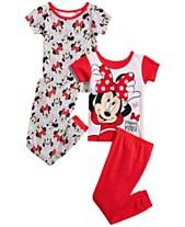 c36621dd6 Pajamas Toddler Girl Clothes - Macy s