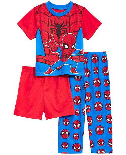 AME Spider-Man Toddler Boys 3-Pc. Spider-Man Pajama Set