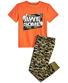 Big Boys 2-Pc. Awesome Pajama Set