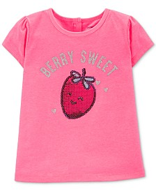 Carter's Toddler Girls Berry Sweet Graphic Top