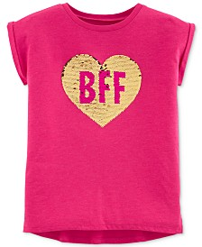 Carter's Toddler Girls BFF Sequin Top