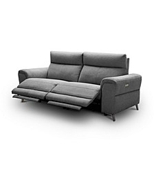 "CLOSEOUT! Raymere 86"" 2-Pc. Fabric Sofa with 2 Power Motion & Power Headrests"