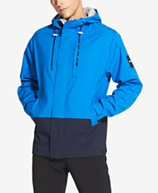 DKNY Men's Colorblocked Hooded Jacket