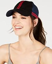 11e8459f5ed92 Steven Madden Colorblocked Twill Baseball Cap