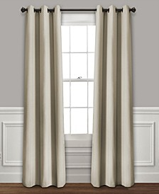 "Absolute Blackout 38"" x 95"" Curtain Set"