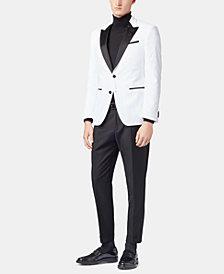BOSS Men's Helward Slim Fit Velvet Jacket