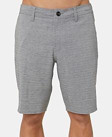 "O'Neill Men's Heather Herringbone 20"" Hybrid Shorts"
