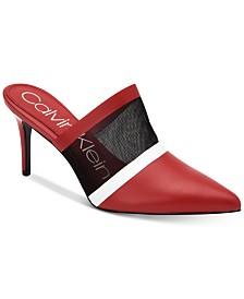 Calvin Klein Women's Garcena Mules