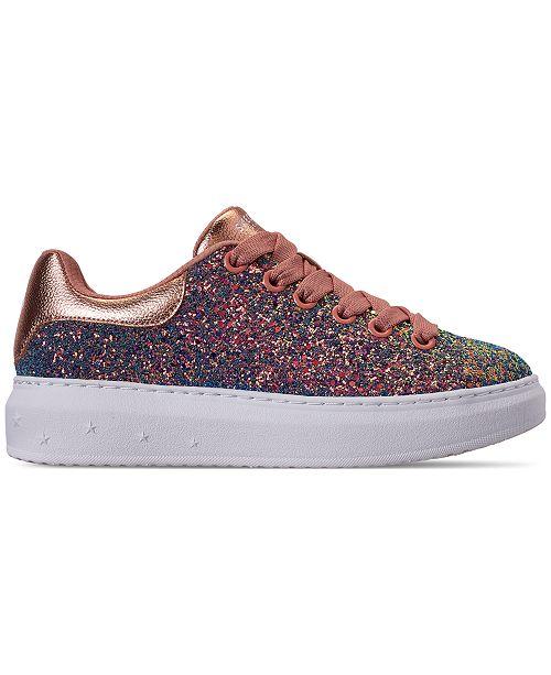 50eee0cf7923 ... Skechers Women's High Street - Glitter Rockers Casual Sneakers from  Finish ...