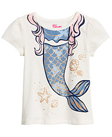 Epic Threads Little Girls Mermaid-Print T-Shirt, Created for Macy's
