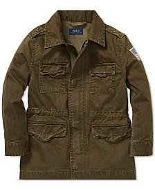 Polo Ralph Lauren Toddler Boys Herringbone Cotton Jacket