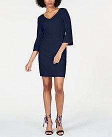 Trina Turk V-Neck Sheath Dress
