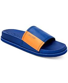 8d6e6895a Calvin Men's Mackee Slide Sandals