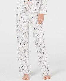 Charter Club Floral Print Long Pants