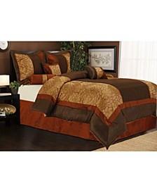 Sibyl 7-Piece California King Comforter Set