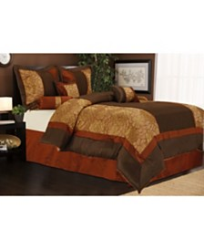 Sibyl 7-Piece California King Comforter Set